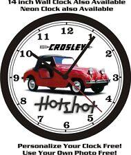 CROSLEY HOTSHOT WALL CLOCK-FREE USA SHIP!
