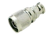BNC Male Plug To N Male Plug Convertor Adaptor Connector