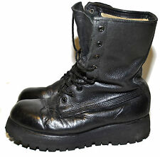 CANADIAN ARMY MK3 COMBAT BOOTS - size 4 F (Wide) - 19K/B85