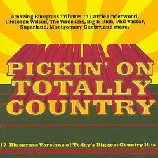 FREE US SHIP. on ANY 2 CDs! NEW CD Totally Country Tribute: Pickin' on Totally C