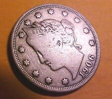 1906 Liberty Nickel ~Sharp Detail ~Nice Liberty ~Hard to find ☆Make An Offer☆