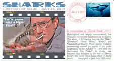 "COVERSCAPE computer generated ""Sharks"" forever set of 5 U/O fdc's"
