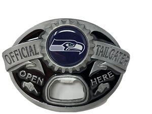 Seattle Seahawks NEW Tailgater Belt Buckle With Bottle Opener NFL Football
