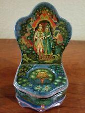"New ListingRussian Kholui Lacquer Box ""Prince Ivan and Princess Vasilisa�"