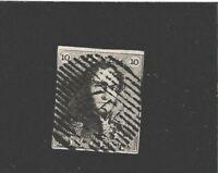 Briefmarken Belgien  Mi. Nr. 1 a, 10 C