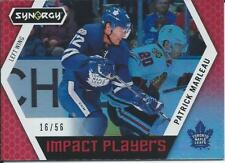 2017-18 Upper Deck Synergy PATRICK MARLEAU Impact Players Red #IP-4 16/56