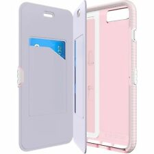 Apple Iphone 6 6s 4.7 tech21 flip case pink impactology book evo wallet cover