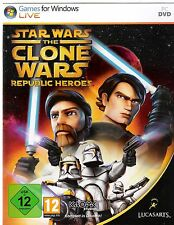 Star Wars: The Clone Wars - Republic Heroes (PC, 2010, DVD-Box)