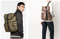 G-Star Raw Vaan Dast Backpack - Camo and Bronze Green -Unisex