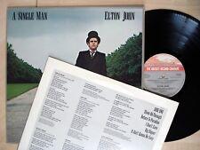 Elton John Single Man + Inner A//2 B//2 Gatefold UK LP Rocket TRAIN 1 1978 EX