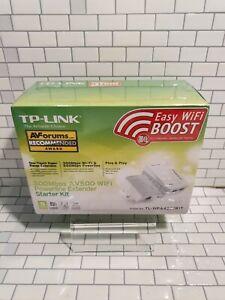 TP-LINK 300Mbps AV500 Wi Fi Powerline Extender Starter Kit TL-WPA4220KIT