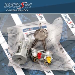 Ignition Cylinder & Door Lock Key Set For Isuzu NPR NQR NPR-HD NRR 2008-2011