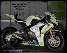 HONDA CBR 1000Rr Hannspree Ten Kat Superbike 1 A4 Imprimé Photo moto vintage