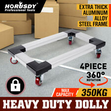 Heavy Duty Dolly Workshop Platform Cart Trolley Furniture Piano Mover 4 Wheels