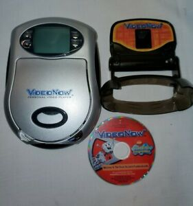 Video Now Personal Video Player Hasbro Silver Comes With SpongeBob Disc Tested