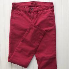 J Brand Women's Shock Pink Jeans Size 27 Skinny Leg