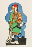 Spanien Krieg Bürgerkrieg Postal Nationalen. Umschlag . (1937ca). Postkarte