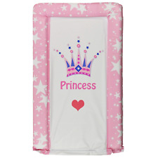 Baby Girl Pink Changing Mat Little Princess Crown Nappy Unit Waterproof Cover