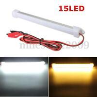12V LED Car Interior Light Bar Tube SMD Strip Day / Warm Light Tube Lamp Truck
