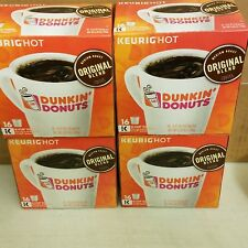 64 K-Cups of Dunkin Donuts Original (4 boxes x 16 each) Sealed