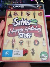 The Sims 2 Happy Holiday Stuff EXPANSION (FAT) -  PC GAME - FREE POST