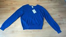 John Lewis Unisex V-Neck Pullover Blue Age 15/16 100% Cotton Brand New RRP £14