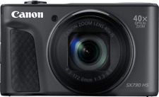 Canon PowerShot SX730 HS 20,3MP Digitalkamera - Schwarz (1791C002)