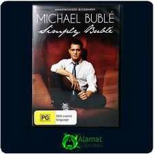 Michael Buble Simply Buble (DVD) Music - Documentary - Region 4