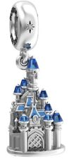 Charm Exclusif Disneyland Paris château Sleeping Beauty Castle Pandora argent
