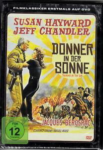 Donner in der Sonne / Susan Hayward, Jeff Chandler Film-Klassiker