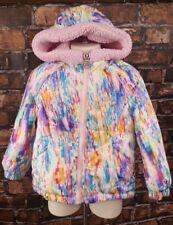A903 ZeroXposur Snow Ski Winter Pink Fleece Lined Jacket Youth Girl Size 3T