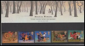 1998 GB Magical Worlds Royal Mail Presentation Pack No.289