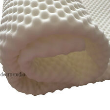 Egg Crate Convoluted 2 Inch Foam Mattress Pad/Topper Twin/Full/Queen Bed Pad