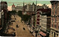 Vintage Postcard - 1914 State Street From Broadway Albany New York NY #4246