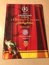 Offizielles Programmheft Magazin Finale CL 2001 FC Bayern München Valencia CF H4