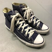 Converse All Star Hi Top Trainers Size UK 4 EU 36.5 Sneakers Shoes Navy Blue