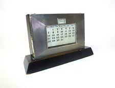 Art Deco Kalender um 1920 Birmingham Silber ewiger Kalender