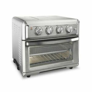 Cuisinart TOA-60 1800W Stainless Steel Air Fryer Toaster Oven ~ 7 Function