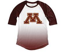 NCAA Women's Sublimated Baseball Tee  Minnesota Golden Gophers Size L