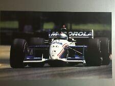 2002 Michael Andretti's Motorola Champ Car Race Car Print Picture Poster RARE!!