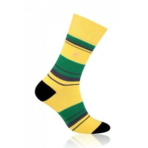 WEDNESDAY Mens Coloured Cotton Rich Socks, Colourful Socks, Fun Socks
