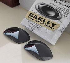 Nice 100% Authentic Oakley Straight Jacket Sunglasses Black Iridium Lens