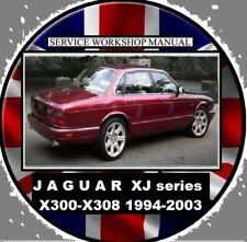 JAGUAR XJ6 XJ8 X300 X308 1994-2003 Workshop  REPAIR & ELECTRICAL MANUAL CD
