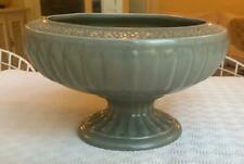 More details for unusual vintage dartmouth pottery grey footed bowl planter 6in height 10in acros