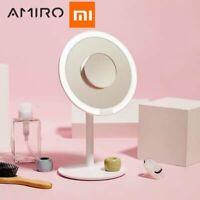 Xiaomi AMIRO 5X Magnifying Makeup Mirror Facial Brush Cleansing Cosmetic Mirror