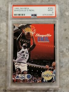 Shaquille O'Neal 1992 Skybox Rookie, PSA 9 Mint!