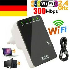 300Mbit/s Mini WIFI Repeater Router AP WLAN 802.11n Wireless Verstärker Extender