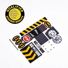CUSTOM sticker for LEGO 7781 Two-Face's Escape, Premium quality sticker