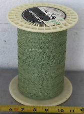 GUDEBROD BUTTWIND CUSTOM FISHING ROD WINDING WRAP GREEN & WHITE ENTIRE SPOOL #3