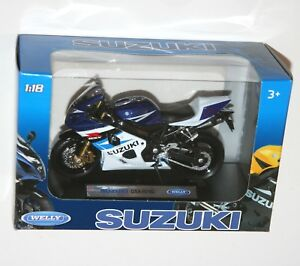 Welly - SUZUKI GSX-R750 - Motorbike Model Scale 1:18